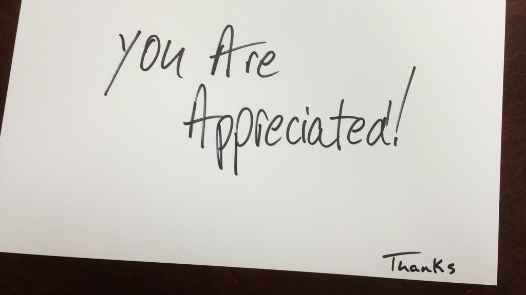 Inspiring Your Team through Appreciation
