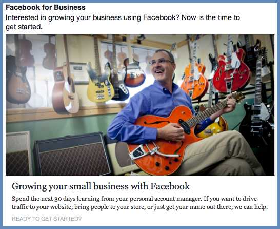 Facebook Patronizes Business
