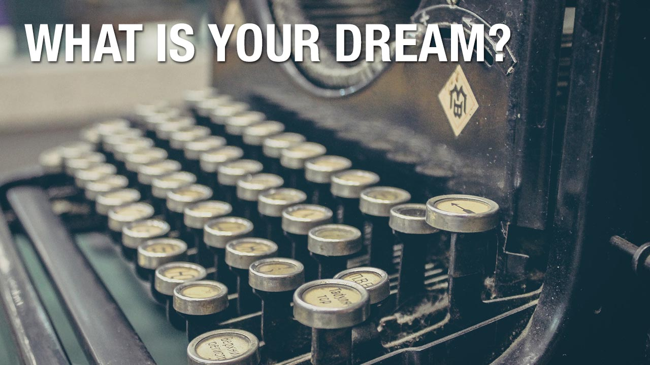 Never Give Up On Your Dream | What do the voices say to you?