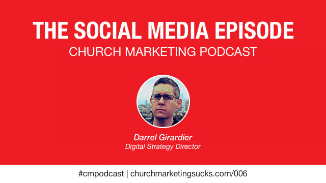 Darrel Girardier talking about social media in the church