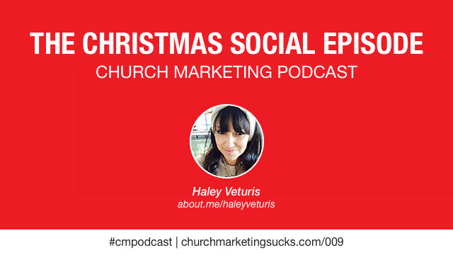 The Christmas Social Episode, The podcast for church communicators