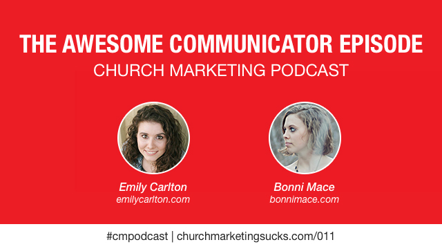 The Awesome Communicator Episode, the church communication podcast