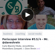 Dave Shrein Online Entrepreneur, Periscope User