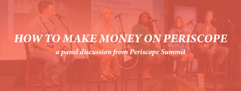 Kim Garst, How to Make Money on periscope Summit