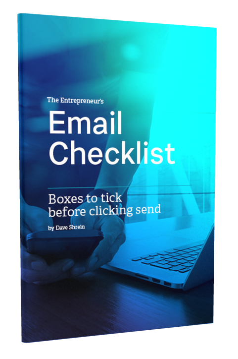 Email Checklist for Online Entrepreneur's