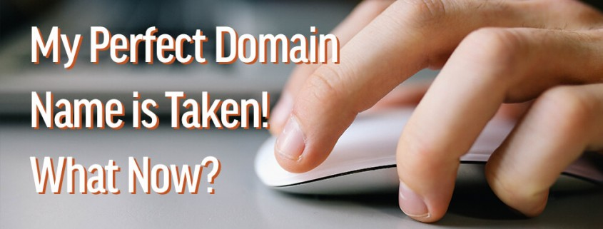 how to buy a domain name that is taken