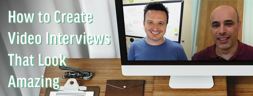 How to Create Video Interviews Featured Image