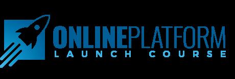 Online Platform Launch Logo